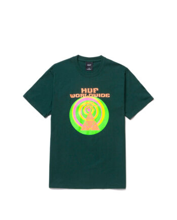 Huf We Give You S/S Tee Dark Green TS01331