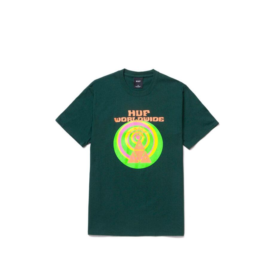 Huf We Give You S/S Tee Dark Green TS01331