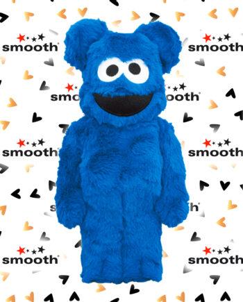 Medicom Toy Cookie Monster Costume Version Bearbrick 400%