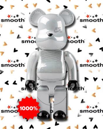 Medicom Toy Nike SB 2020 Edition White Bearbrick 1000%