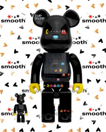 Medicom Toy Pac-Man Bearbrick Set 100% 400%