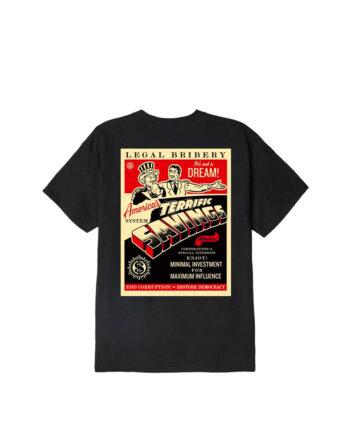 Obey America T-Shirt Black 165262644