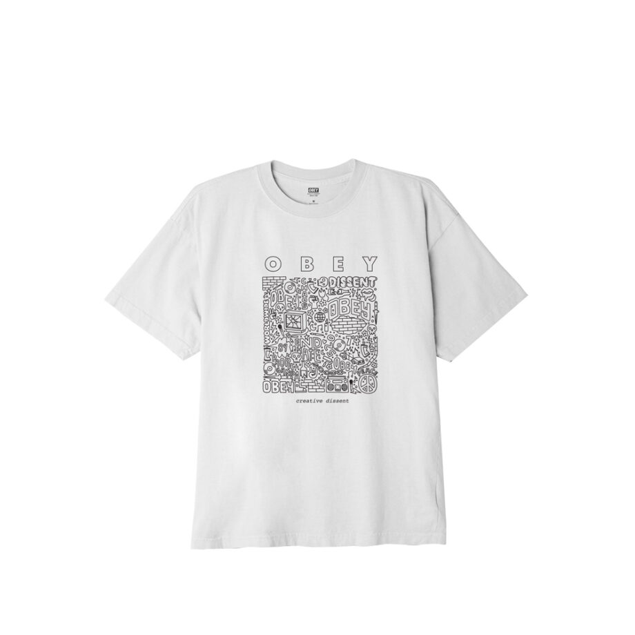 Obey Creative Dissent Classic T-Shirt 165262586 White