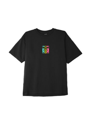 Obey Divided Heavyweight Classic Box T-Shirt Off-Black 166912590
