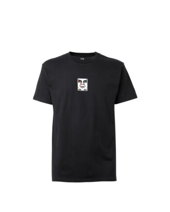 Obey Double Vision T-Shirt Black 165262587