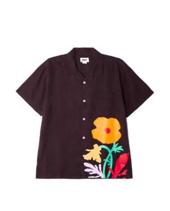 Obey Nico Woven S/S Shirt Black 181210320