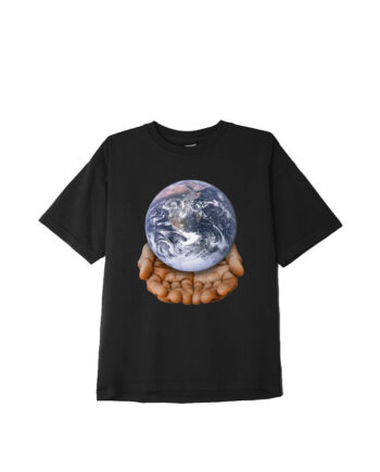 Obey Our Planet Is In Your Hands T-Shirt Black 166912596
