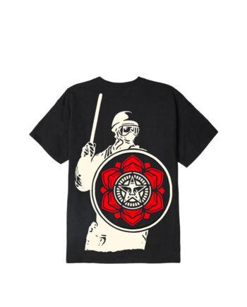 Obey Riot T-Shirt Black 165262638