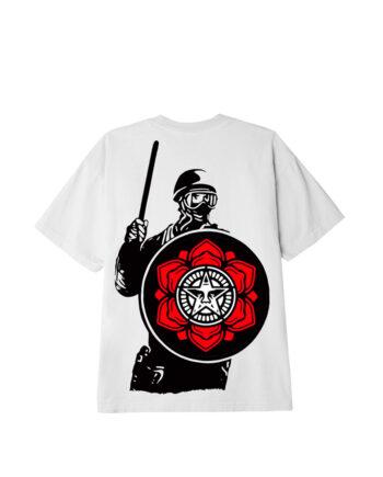 Obey Riot T-Shirt White 165262638