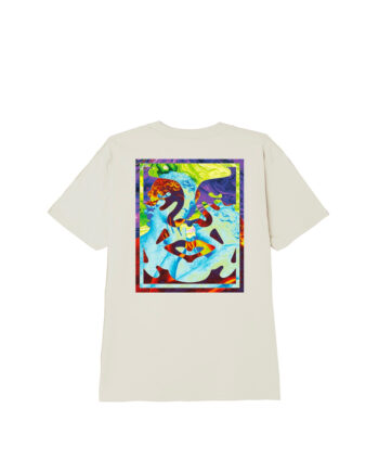 Obey Statue Icon Classic T-Shirt Cream 165262589