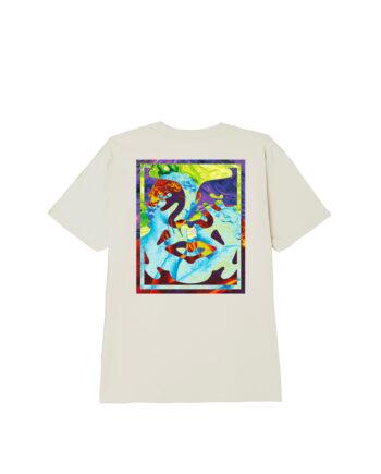 Obey Statue Icon Classic T-Shirt Cream 165262589