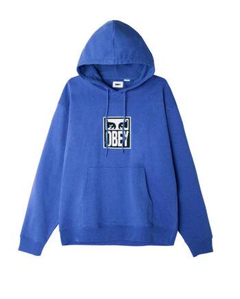 Obey Subvert Eyes Hood Blue Sapphire 112470124