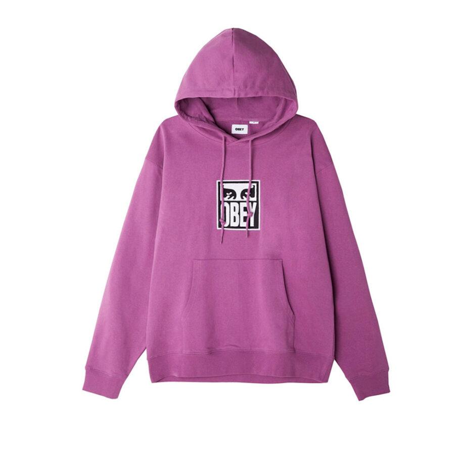 Obey Subvert Eyes Hoodie Purple Nitro 112470124