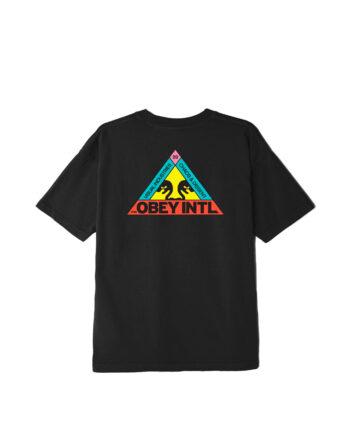 Obey Trinity Classic T-Shirt Black 9334600