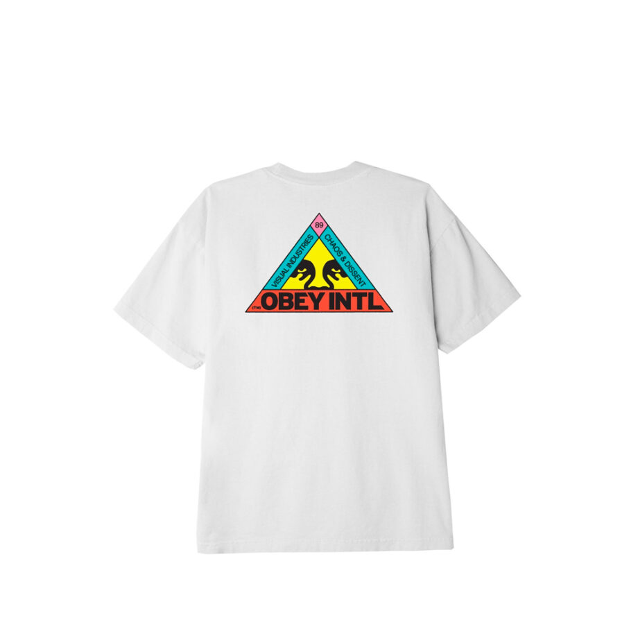 Obey Trinity Classic T-Shirt White 165262600