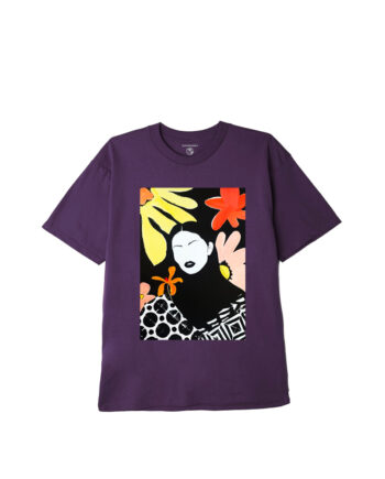 Obey Truth Is Beauty Sustainable T-Shirt Mauve 167292637
