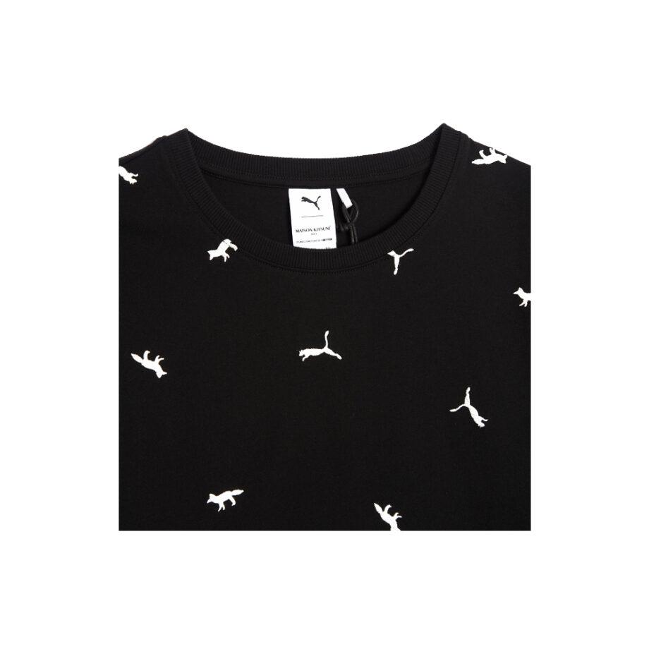 Puma x Maison Kitsuné T-Shirt Puma Black-AOP 530436-01