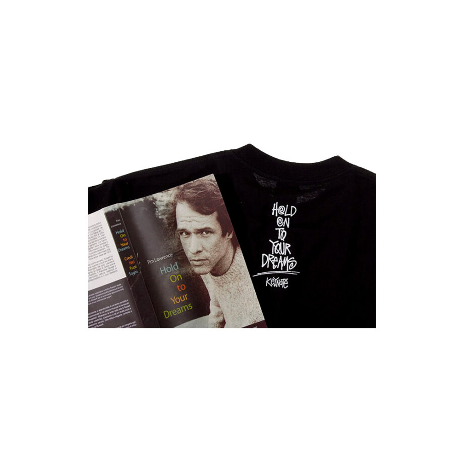 Stussy x Arthur Russell + Slam Jam + Key Note Hold On To Your Dreams Tee Black