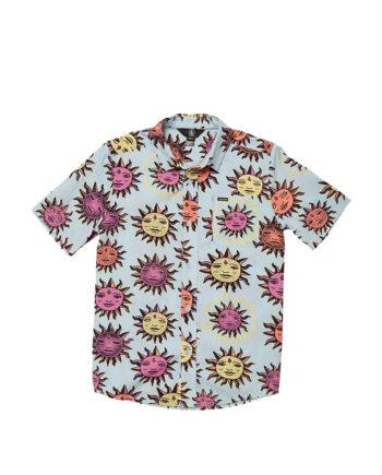 Volcom Ozzy Sun SS Shirt Aether Blue C0412111