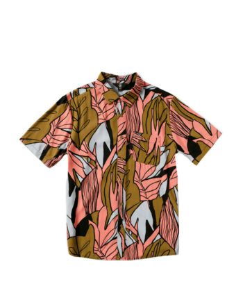 Volcom Pleasure Cruise SS Shirt Old Mill A0412104