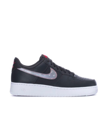 Nike Air Force 1 '07 3M Reflective Swooshes Anthracite / Silver