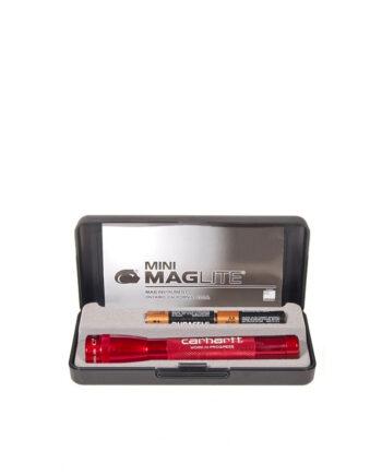Carhartt WIP x Maglite Mini Aluminium Red 2523104001
