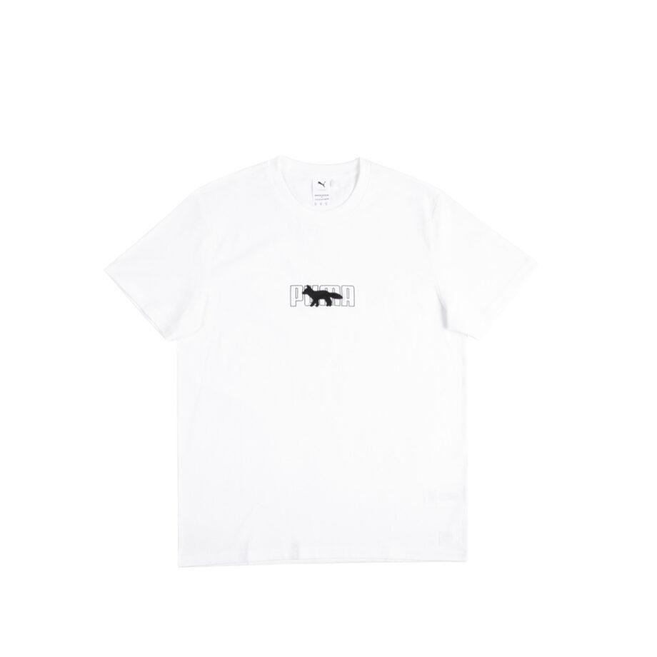 Puma x Maison Kitsuné Oversized T-Shirt Puma White 530434-02
