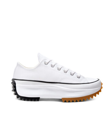 Converse Run Star Hike Low Top White/Black/Gum 168817C