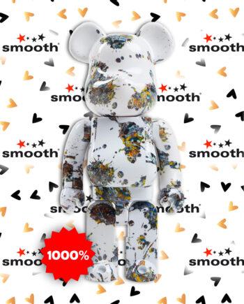 Medicom Toy Jackson Pollock Studio (Splash) Bearbrick 1000%