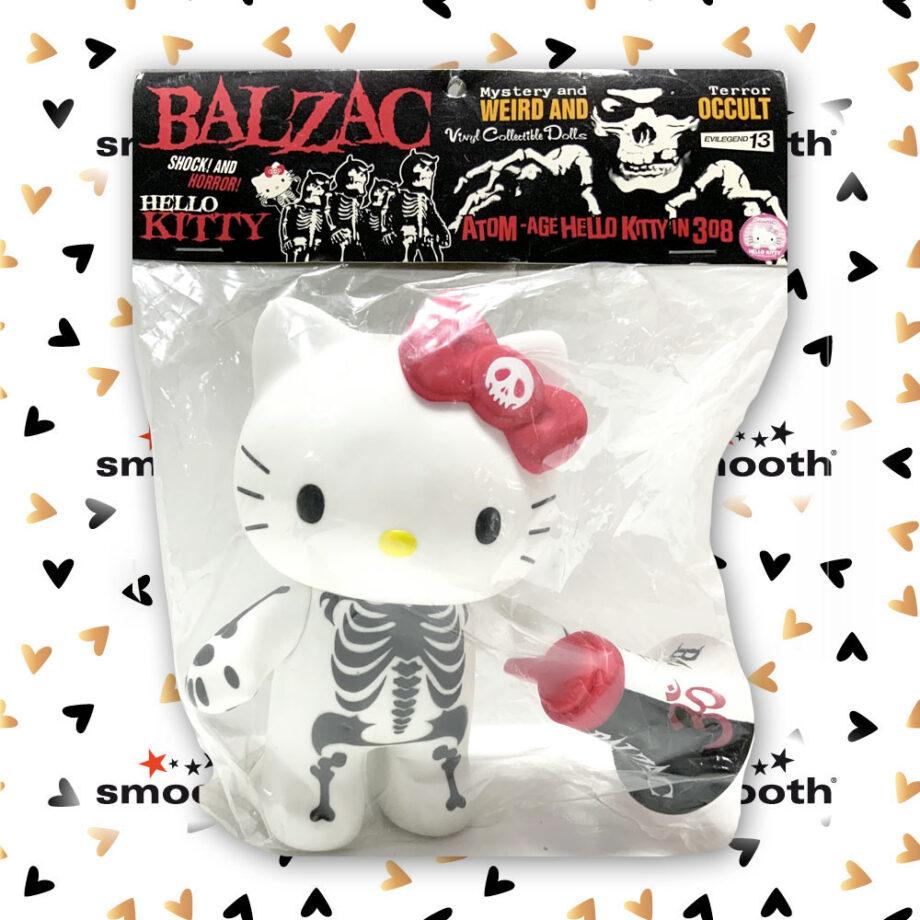 Medicom Toy x Sanrio x Hello Kitty x Balzac Vinyl Collectible Dolls White Version