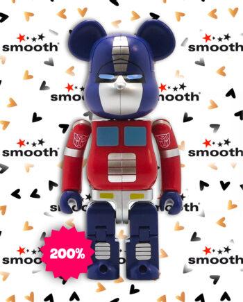 Medicom Toy x Transformers Bumblebee Blue Bearbrick 200%