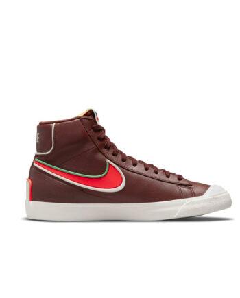 Nike Blazer Mid '77 Infinite Bronze Eclipse / Bright Crimson DA7233-200