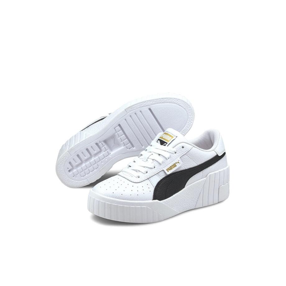 Puma Cali Wedge Puma White-Puma Black 373438-05