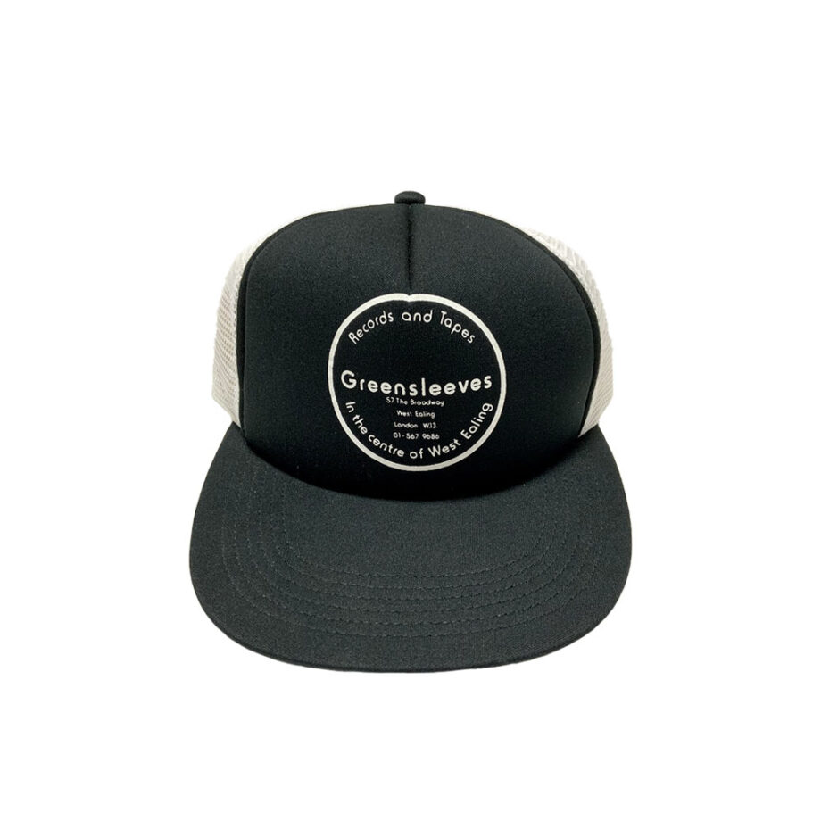 Stussy Deluxe Greensleeves Records and Tape x Al Fingers Cap Black / White