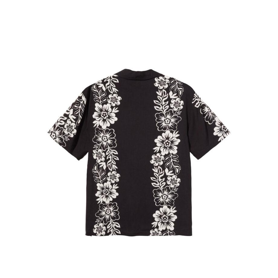 Stussy Hawaiian Pattern Shirt Black 1110157