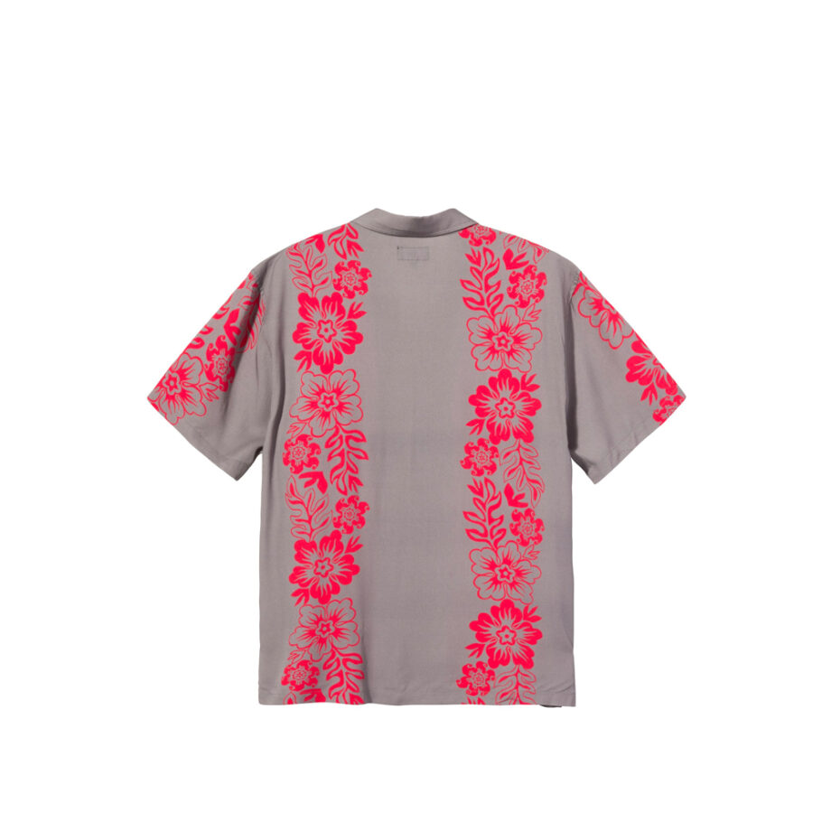 Stussy Hawaiian Pattern Shirt Grey 1110157