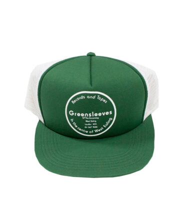 Stussy Deluxe Greensleeves by Al Finger Cap Green / White