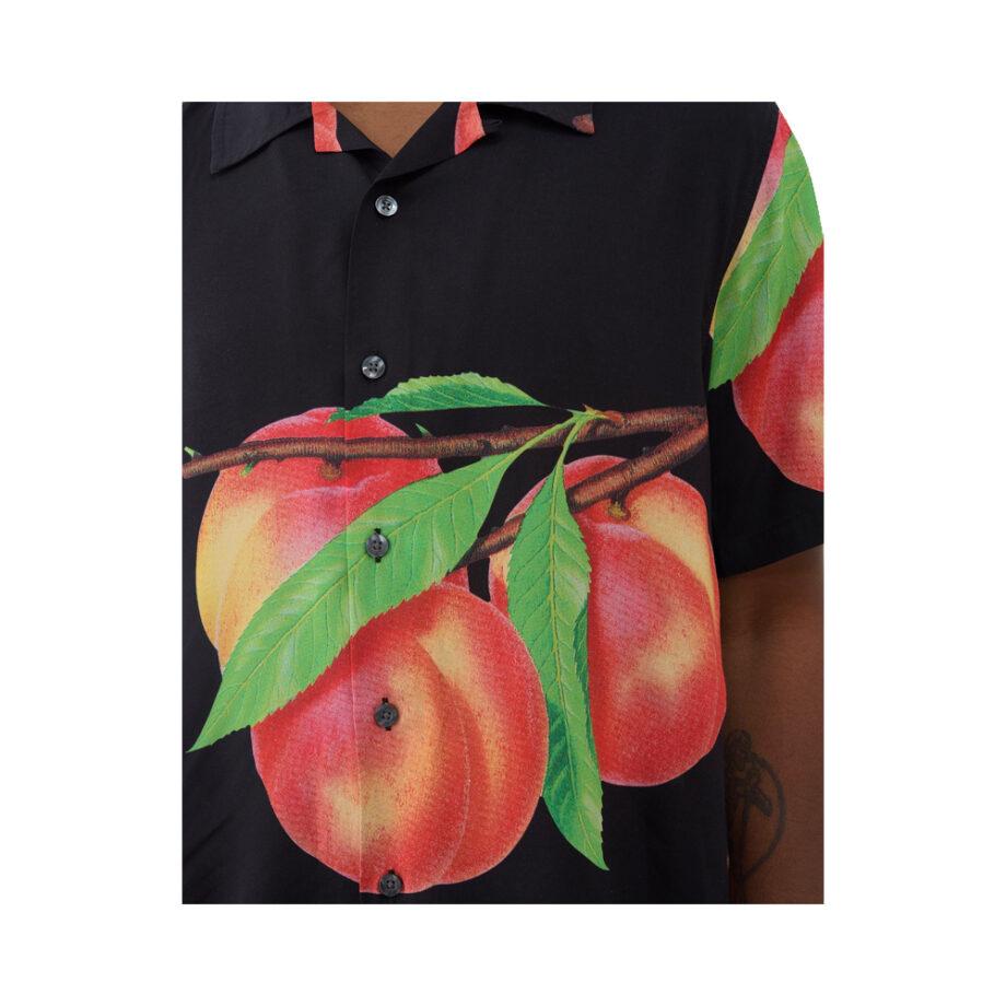 Stussy Peach Pattern Shirt Black 1110159