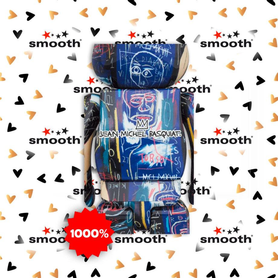 Medicom Toy Jean-Michel Basquiat #7 Bearbrick 1000%