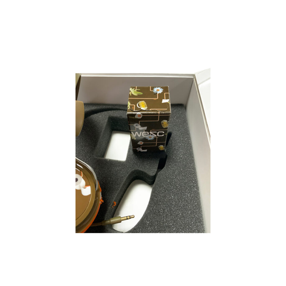 Medicom Toy Wesc Bearbrick Set Bongo - Chocolaate Brown Headphones Limited Edition