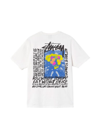 Stussy Camellias Pig Dyed Tee Natural 1904695
