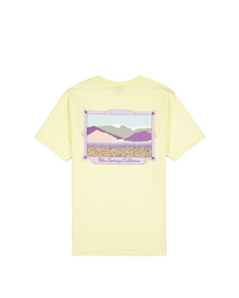 Stussy Palm Springs Tee Pale Yellow 1904691