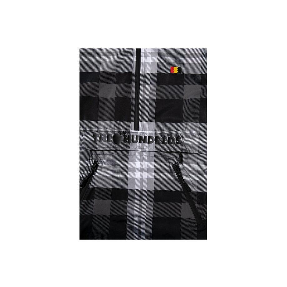 The Hundreds Sequoia Anorak Black 31804210511946