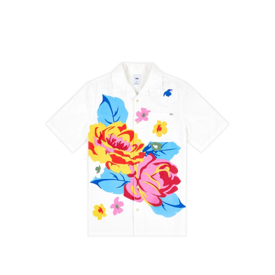 Vans Anaheim Needlework Floral Shirt Natural VN0A5FOP7VJ