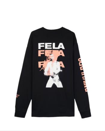 Fela Kuti x Carhartt Wip Long Sleeve Fela Fela Fela T-Shirt I26850-23