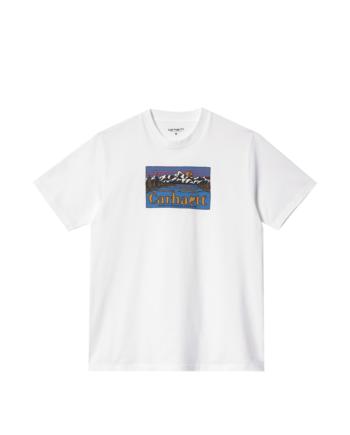Carhartt Wip S/S Great Outdoors T-Shirt White I029609-3