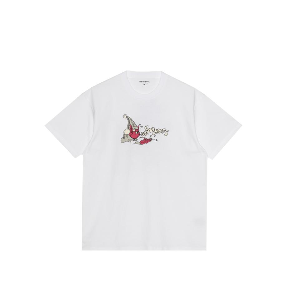 Carhartt Wip S/S KoganKult Wizard T-Shirt White I029632-3