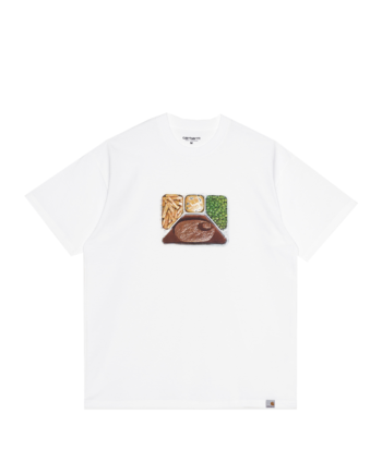 Carhartt Wip S/S Meatloaf T-Shirt White I029621-3