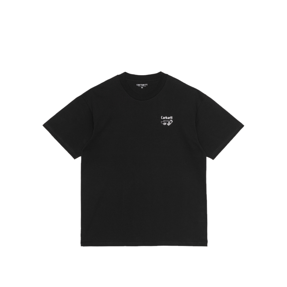 Carhartt Wip S/S Screensaver T-Shirt Black / White I029629-9
