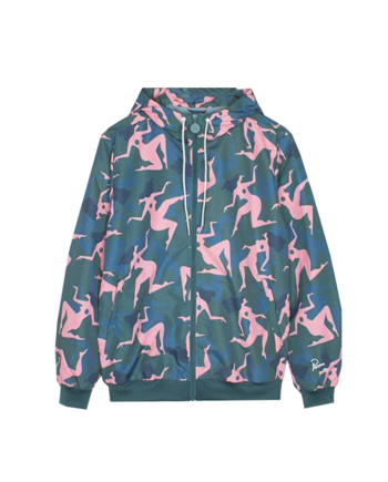 By Parra Musical Chairs Windbreaker Jacket Green 40955